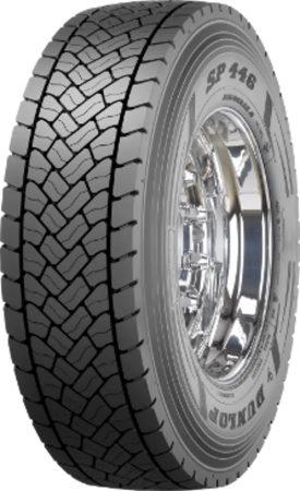 Dunlop Sp446 265/70R17.5 139/136M