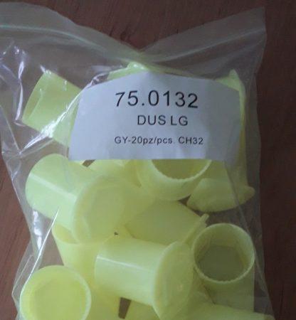 Kerékanya biztonsági jelző kerek 32mm sárga/db